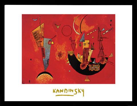 Kandinsky wassily mit und gegen druck gr sse 70x50 for Fenster 70x50