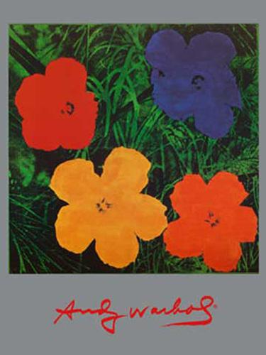warhol andy flowers blumen gem lde druck gr sse 60x80 kunstdruck artprint ebay. Black Bedroom Furniture Sets. Home Design Ideas