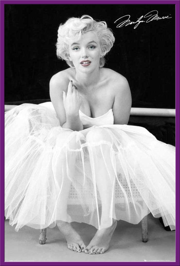 marilyn monroe ballerina film movie kino poster druck gr e 61x91 5 cm ebay. Black Bedroom Furniture Sets. Home Design Ideas