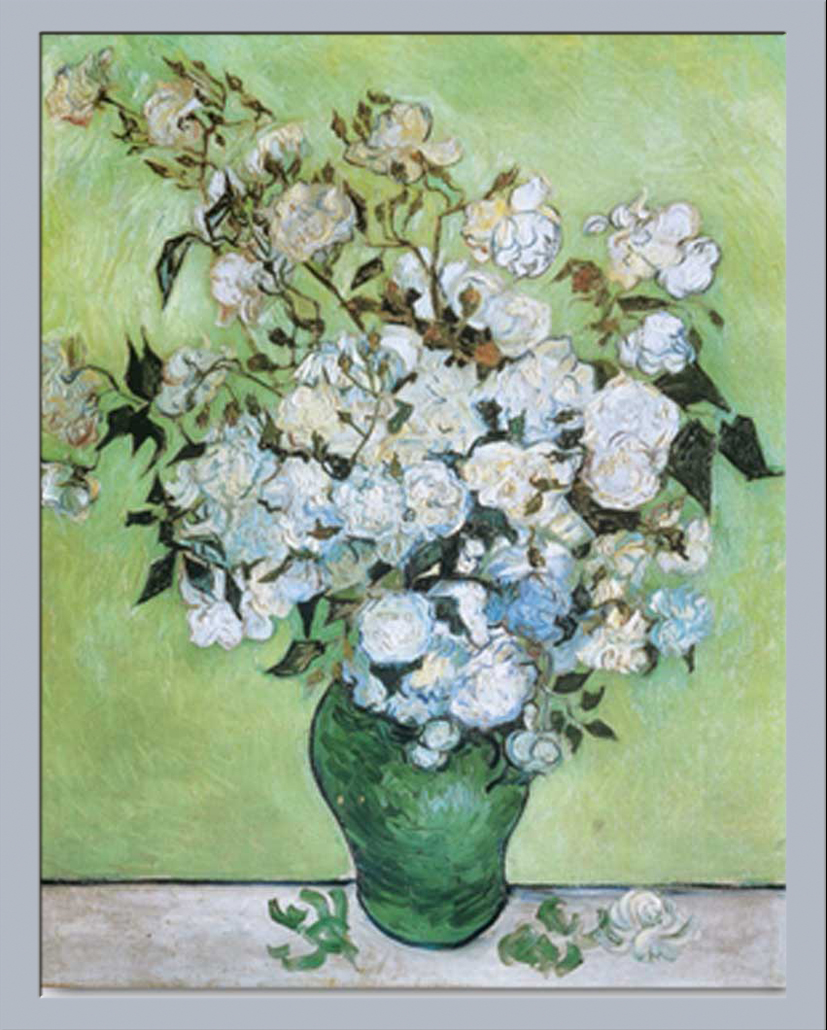van gogh vincent a vase of roses gr sse 40x50 kunstdruck ebay. Black Bedroom Furniture Sets. Home Design Ideas
