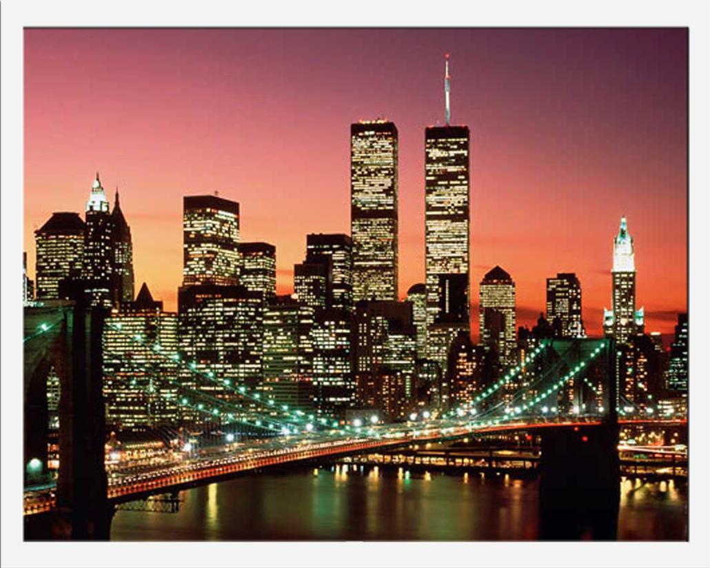 new york manhattan pont de brooklyn de couleur poster 9 ebay. Black Bedroom Furniture Sets. Home Design Ideas