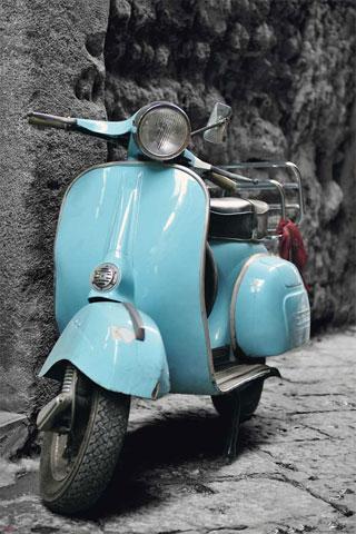 Vespa vintage scooter italy roller moped italien for Vespa com italia