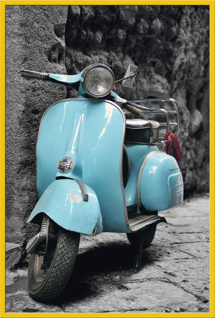 vespa vintage scooter italy roller moped italien. Black Bedroom Furniture Sets. Home Design Ideas
