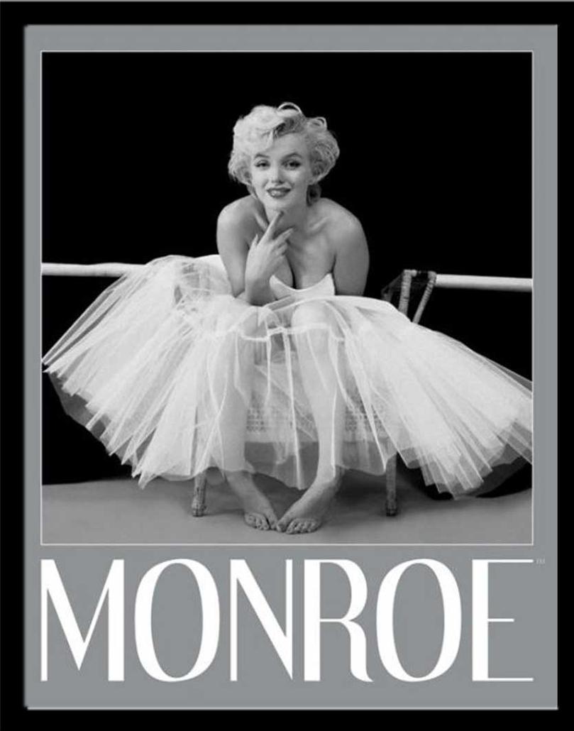 marilyn monroe ballerina film movie kino mini poster. Black Bedroom Furniture Sets. Home Design Ideas