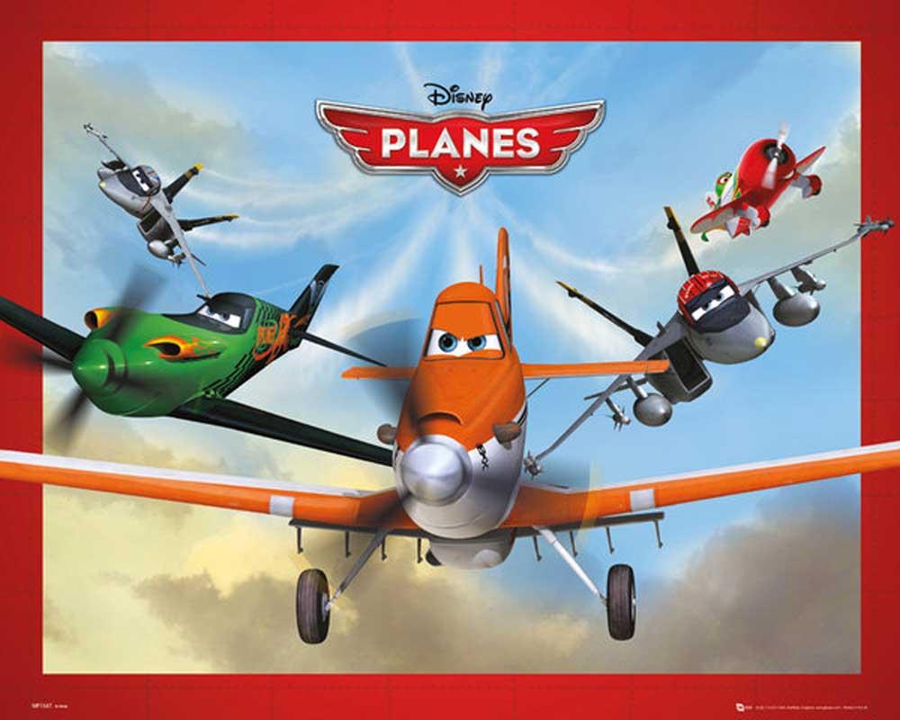 Planes - Fly Disney Film Movie Kino Mini Poster Plakat ... Planes Movie Poster