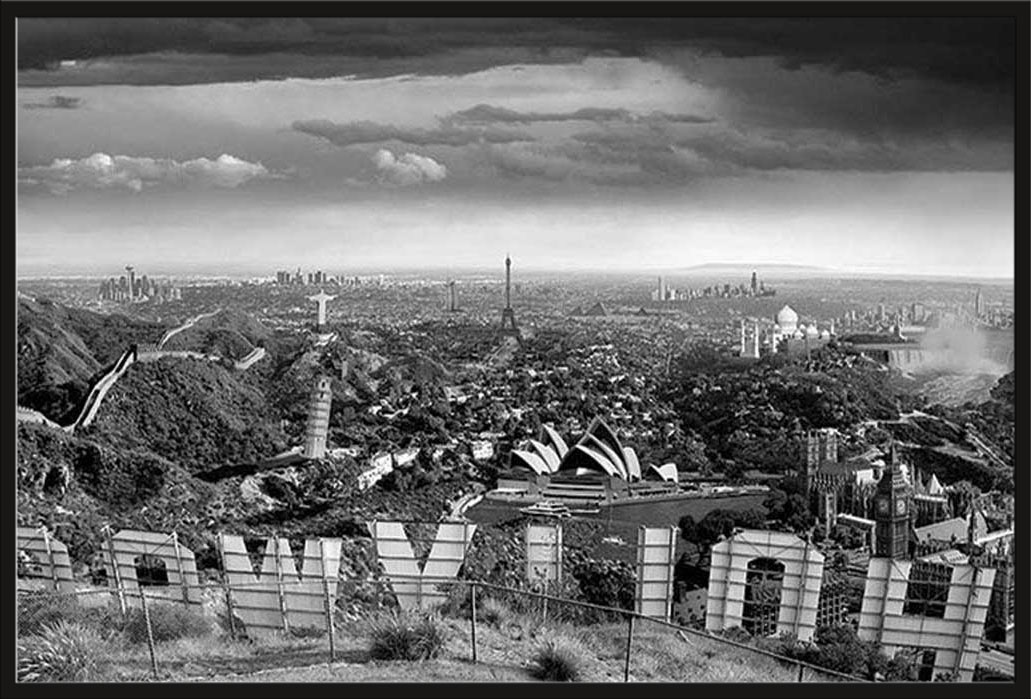 Thomas Barbey - One Too Many Drinks Städte Hollywood + Rahmen ...
