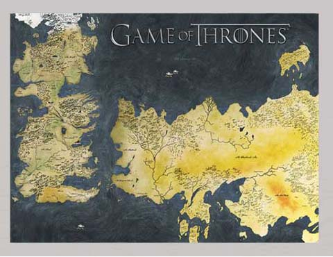 Game Of Thrones Weltkarte