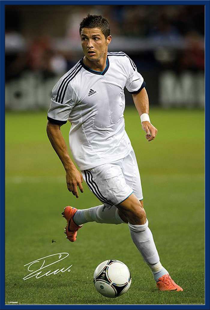fußball  cristiano ronaldo  autograph fussball sport cr7