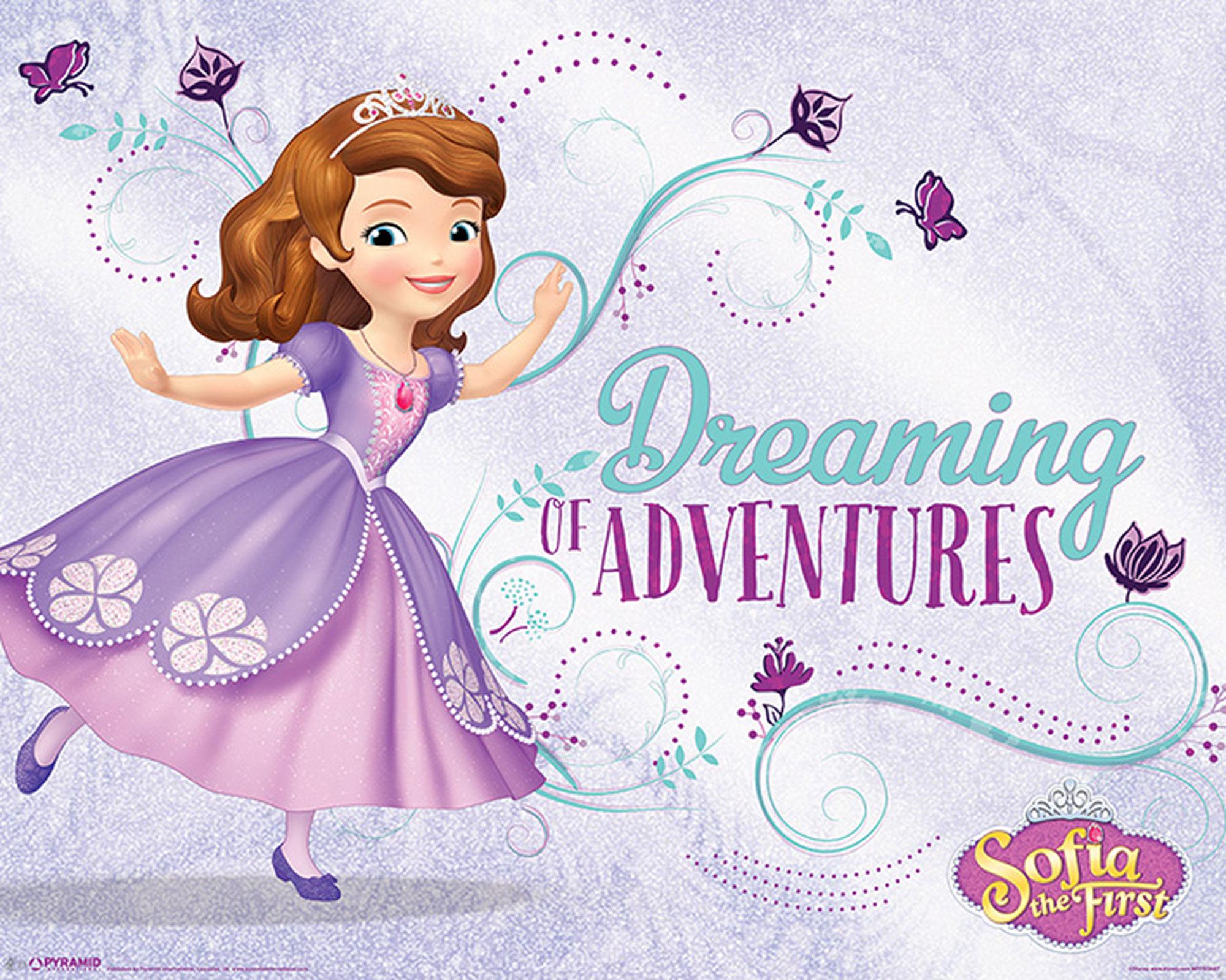 Sofia The First - Sofia die Erste - Dreaming - Mini Poster - Größe ...