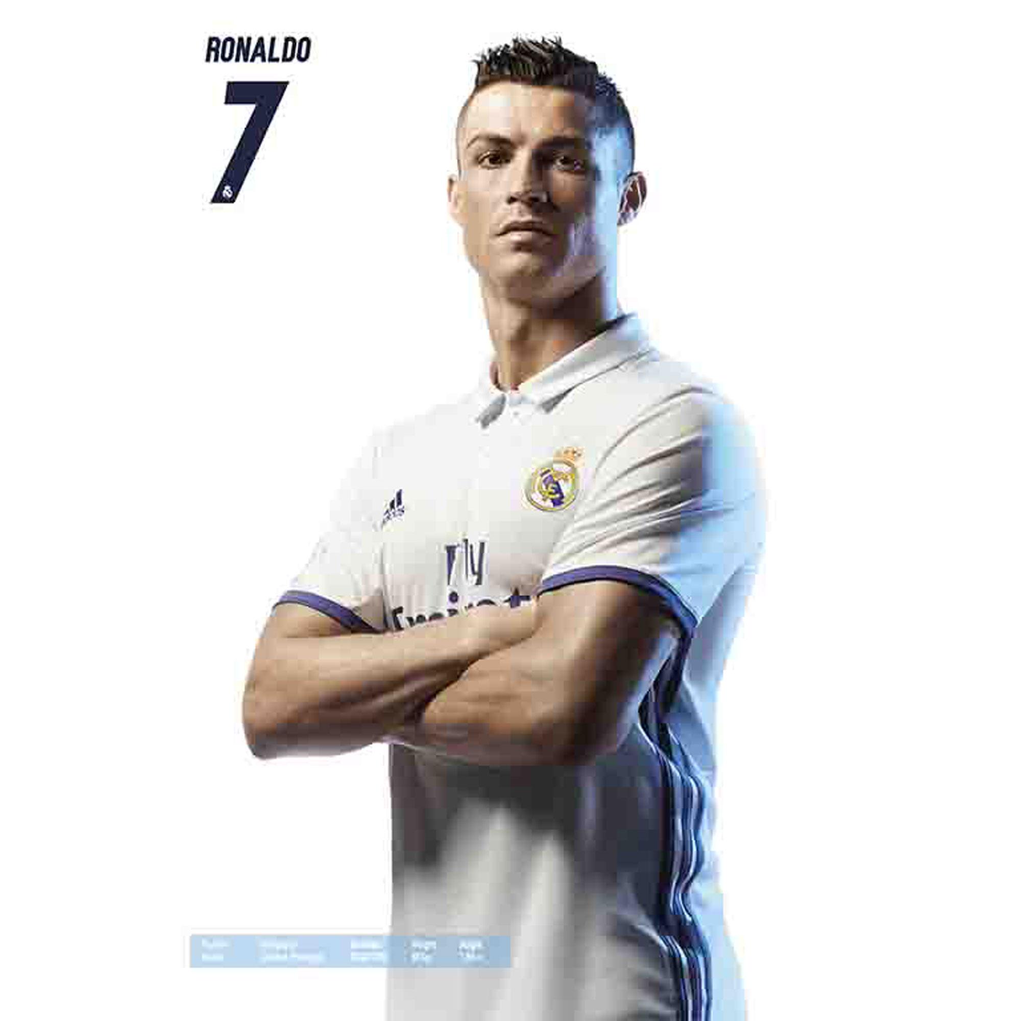 fußball  real madrid cristiano ronaldo  fussball poster