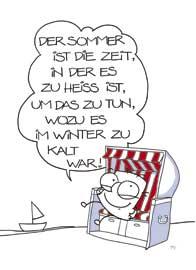 Strandkorb comic  Grimmis Postkarte Fun: Strandkorb | eBay