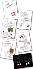 Grimmis - Postkarte - GRI-PC-Set1