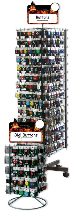 Kleines Display, aber viele Buttons (80 Motive/800 Buttons pro Display)